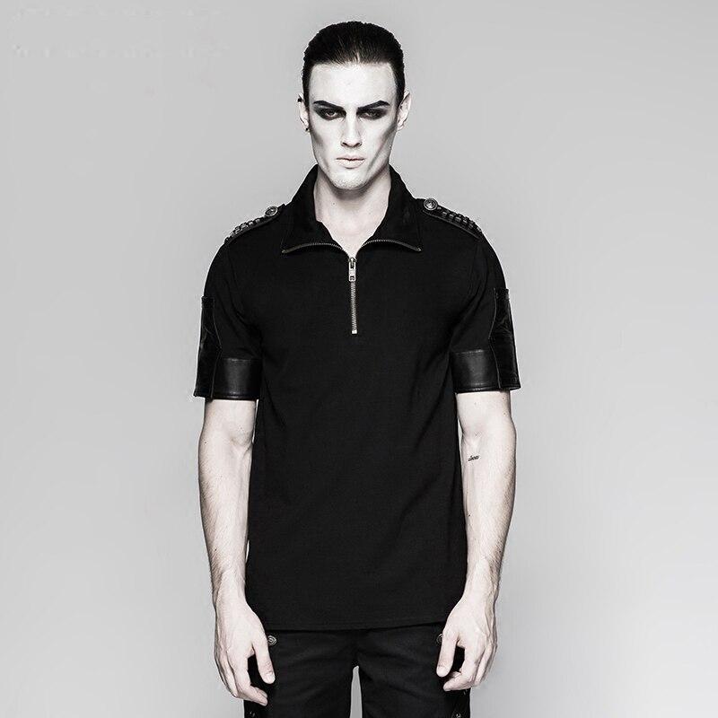 Gothic font b Men s b font Military Uniform Sniper T font b Shirt b font