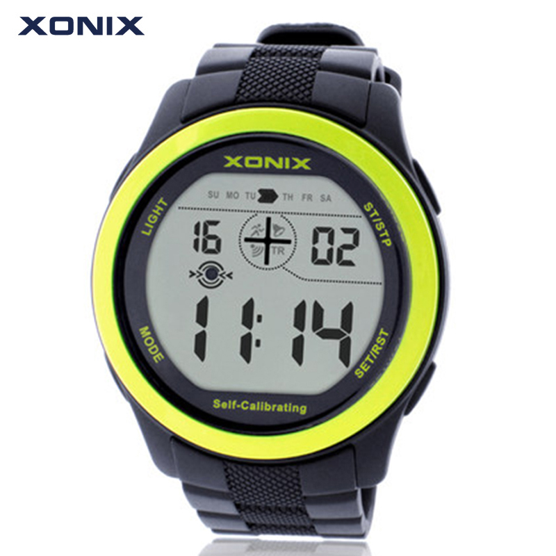 homme watches wave sport xonix digital waterproof brand radio watch in montre item women from self calibrating internet