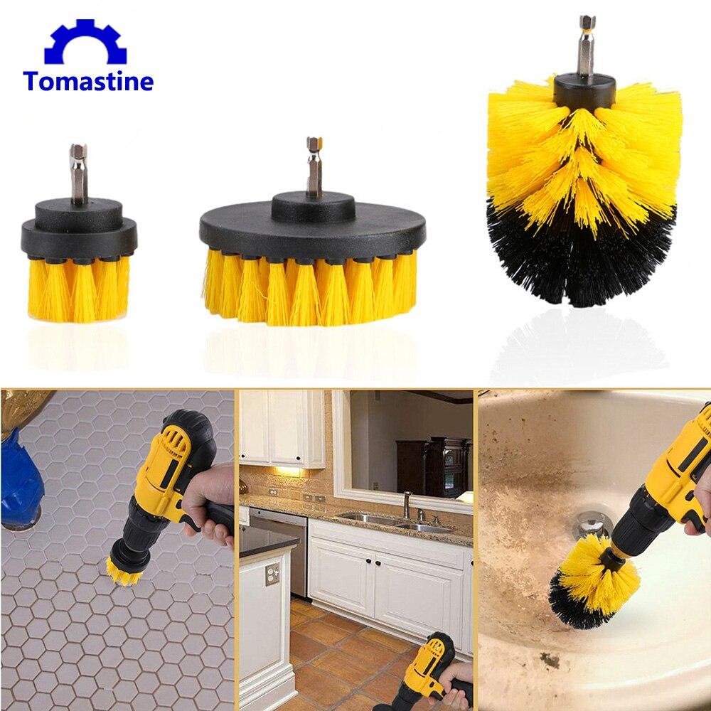Power Scrubber Brush Drill Brush Clean For Bathroom