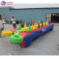 Inflatable carnival passing ball sport game inflatable floating ball game for kids