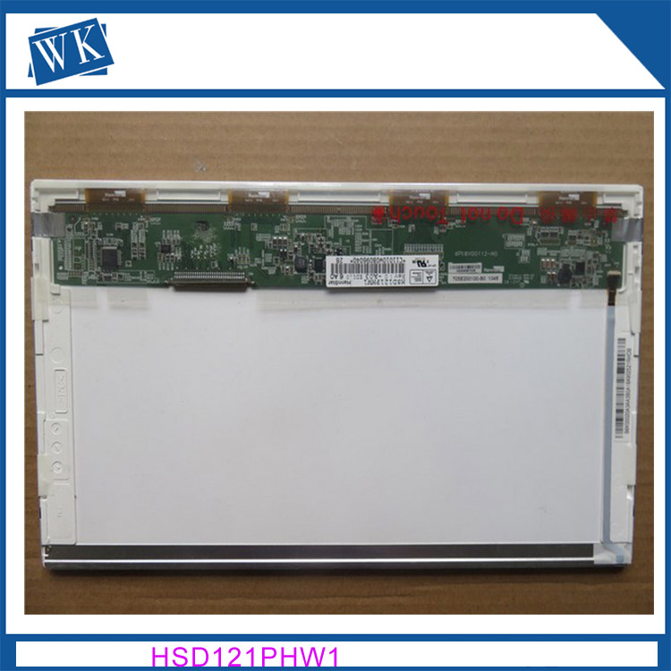 Free shipping 12.1 LCD LED Laptop Screen FOR ASUS EEE PC 1215 1215B 1215T 1215N 1215P HSD121PHW1 lcd display screen replacement 100% new and original ktm wn11182p sick photoelectric switch color code sensor replace kt3w n1116