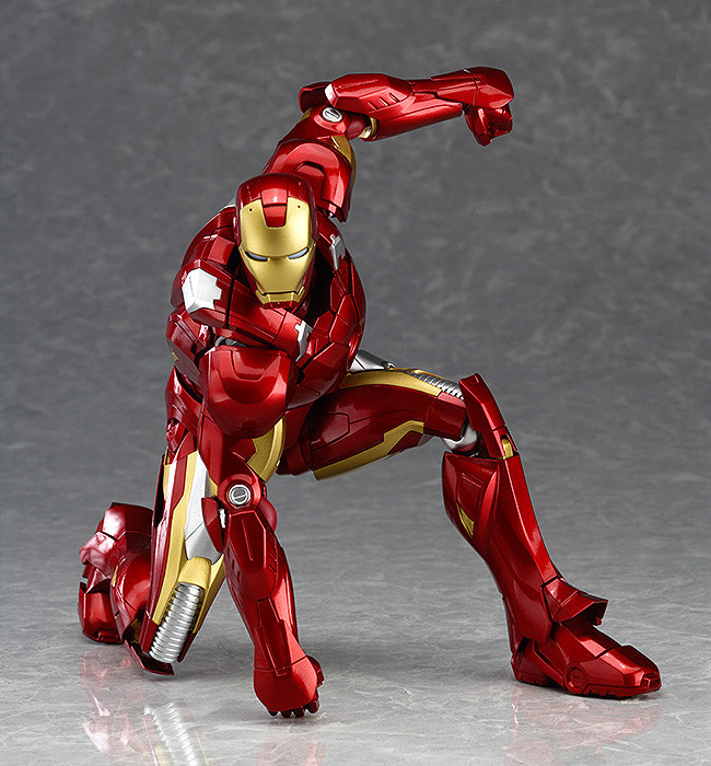 Figma MAX EX-018 The Avenger Ironman 15cm Action Figure Model Toy Iron Man