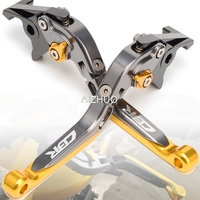 CNC Motorcycle Brake Clutch Lever Folding Extendable For HONDA CBR600RR CBR954RR CBR 600 954 RR 2002 2003 2004 2005 2006