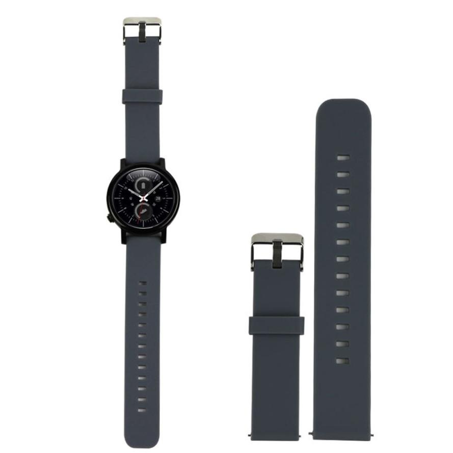 Superior  Sport Fitness Silicone Watch Band Strap with Steel Buckle For Samsung Galaxy Gear S2 Classic SM-R732 Mar22* large small size sport silicone replacement watch wrist strap bands for samsung gear fit 2 r360 watch band conjoined watch band