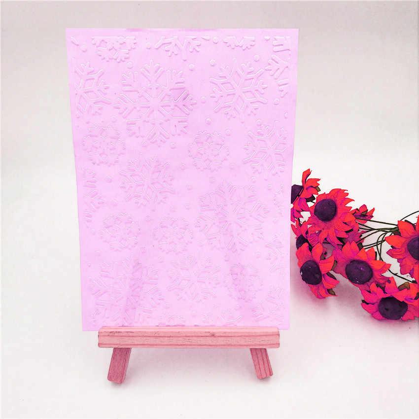 Pasen plastic sneeuwvlok template craft card making papieren kaart album bruiloft decoratie schrapen Embossing mappen