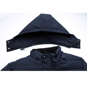 Image 5 - Legible New 2020 Men Jacket Coats Thicken Warm Winter Jackets Men Parka Hooded Outwear Cotton padded  Casual Jacket