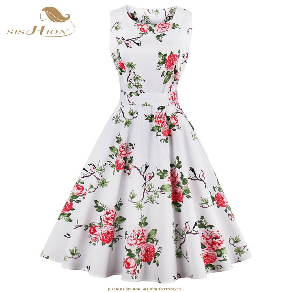 Túnica vestidos s-4xl tallas grandes mujeres dress verano de la impresión floral