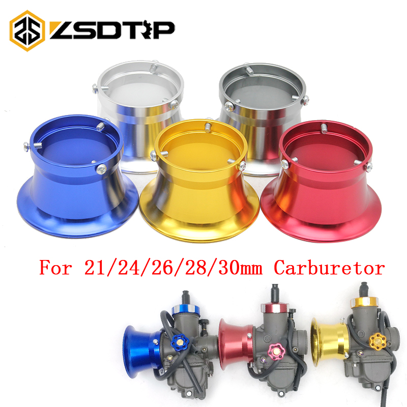ZSDTRP Universal 50mm For Modified PWK KEIHIN 28mm 30mm Carburetor Motorcycle Air Filter Motorbike Wind Cup Horn Cup Filter Cup modified motorcycle accessories refires horn trolley belt oil pump cnc general horn refires