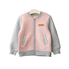 2-8 Baby Girls Clothes Spring Autumn Baseball Jacket Children Girl Long Sleeve Coat Jersey Sweatshirt Thickened Sport Hoodies