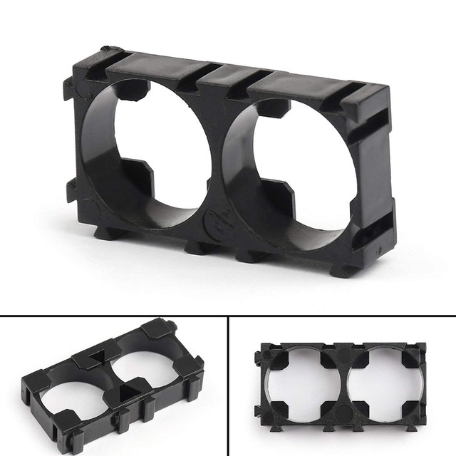 Aokin 1ps 1p 2p 3p 18650 Battery Holder Bracket DIY Cylindrical Batteries Pack Fixture Anti Vibration Case Storage Box Containe 1