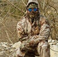 Водонепроницаемый дышащий Dead Leaves камуфляж Рыбалка Охота 3D бионический Камуфляжный костюм снайпер тактическая одежда милитари куртка