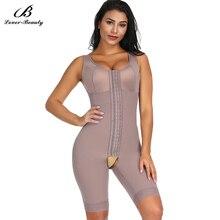 Lover Beauty wysoka kompresja kontrola brzucha Overbust po porodzie odzyskiwanie odchudzanie urządzenie do modelowania sylwetki pas wyszczuplający talię Butt Lifter Shapewear