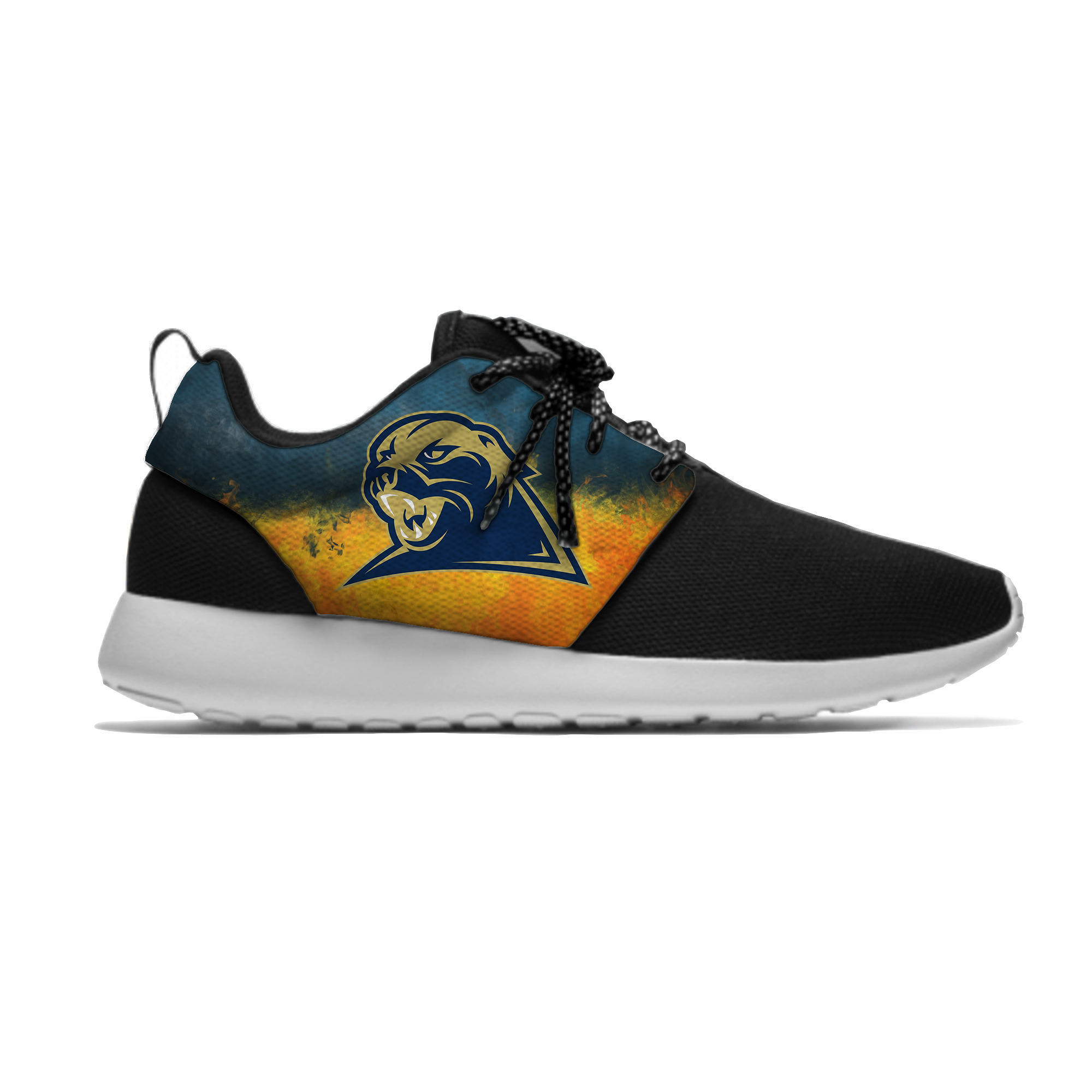 Men's/Women's Breathable Running Pittsburgh Panthers Shoes University Sport Meshy Shoes Casual Lightweight Sneakers(China)