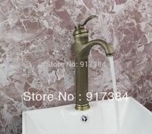 Красивая античная латунь закончил Tap Ванная комната бассейна и смеситель для мойки латунь кран JN8652