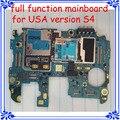 100% original eua versão desbloqueado motherboard para samsung galaxy s4 i545 l720 r970 placa principal com batatas fritas e software