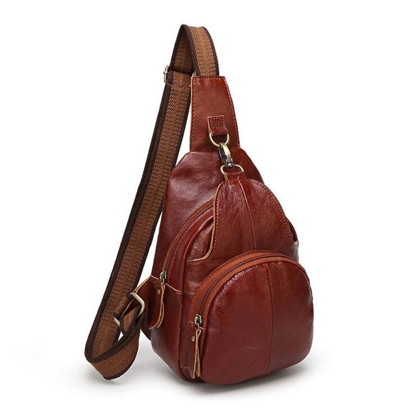 BARHEE Männer Serie Echtes Leder Männer Fehlschlag Tasche - Handtaschen