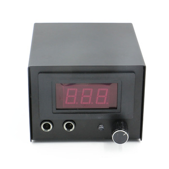 2020 Tattoo Power Supply Digital LCD Tattoo Power Supply Black For Tattoo Gun Machine Tattoo Supply Drop Shipping ez tattoo power supply ipower watch car charger 100