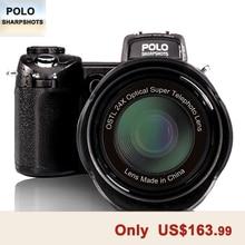 PROTAX D7100 33MP FHD DSLR Half-Professional Digital Cameras 24x Telephoto & Wide Angle Lens sets 8X Digital zoom Cameras Focus