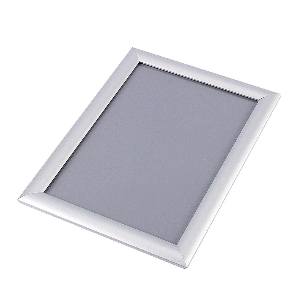 1 Stück A4 Silber Plakatständer Snap Rahmen Aluminium Clip Wand ...