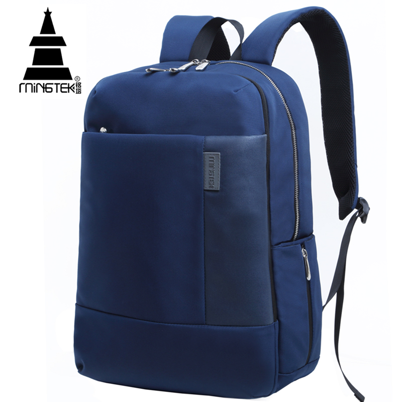 ФОТО Business Travel Laptop Backpack 14 15.6 inch Casual Notebook Women Men Backpacks Waterproof Nylon School Bags For Teenagers
