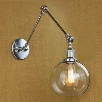 Iwhd 조정 가능한 산업 빈티지 벽 램프 스타일 로프트 다 이닝 룸 긴 팔 벽 빛 arandela wandlamp 벽걸이 조명등. 등 & 조명 -