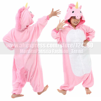 New Costume Child My Little Cos Pink Blue Unicorn Onesies Girls Boys Animal Cosplay Pajamas Pyjama