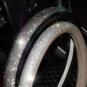 Rhinestone Steering Wheel Cover