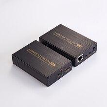 Новый HDMI удлинитель 1080 P до 60 м/196ft по одной сетевой кабель с петлей-выход ИК и EDID для HDTV DVD