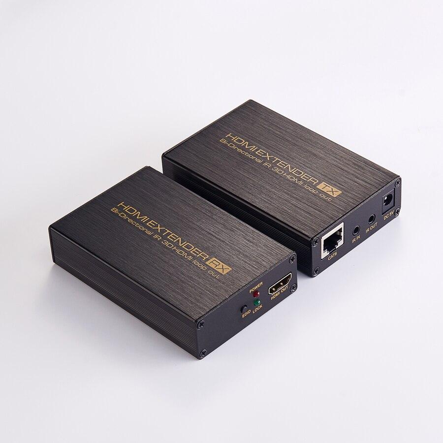 Новый Разбиватель HDMI 1080p с частотой до 60 м/196футов на один сетевой кабель с петлей из ИК и edid для HDTV и DVD