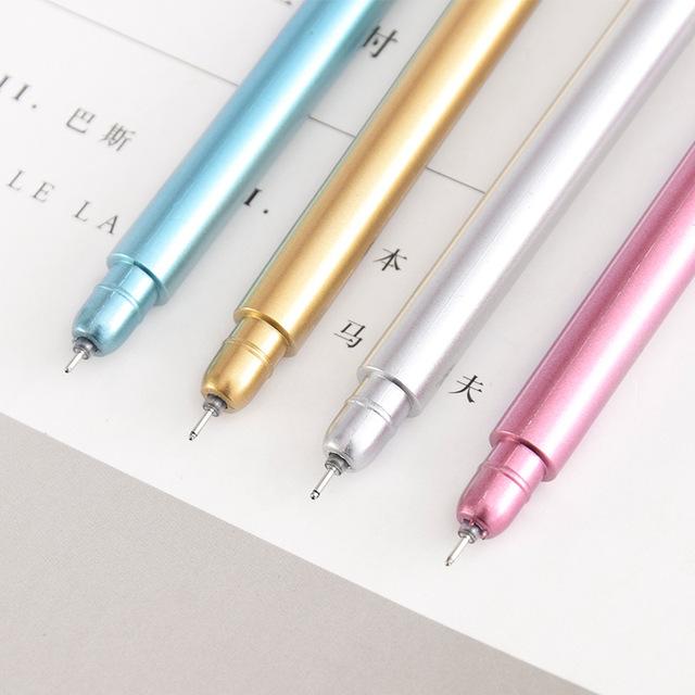 60 Pcs/Lot Cartoon Key Gel Pens Novelty Ballpoint Pens 0.5mm Roller Ball Black Ink Stationery Office School Supplies Cute Pen