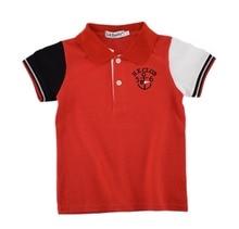 Summer children baby boys ops t shirt cotton striped 8 colors children boys t shirt wear boys clothing 1pcs/lots