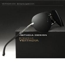 VEITHDIA Sunglasses Aluminum Magnesium Men Brand Sunglasses Polarized Classic Sun Glasses Eyewears Accessories gafas de sol 6500
