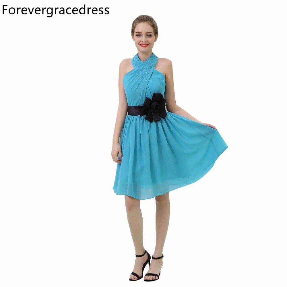 Forevergracedress Cheap Country Beach Bridesmaid Dress Blue Color ...