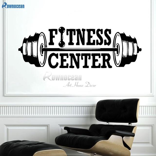 Aliexpress.com : Buy Wall Decor Vinyl Sticker Mural Decal Art Gym ...