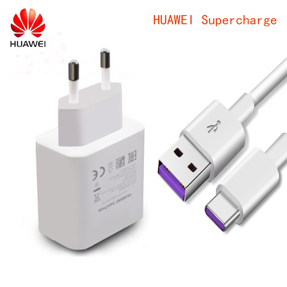 HUAWEI Charger 5V Mate C-Cable Usb-Type P20 Pro Plus Honor 10 Original For 9-10 P10 5A