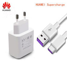Original HUAWEI Super Charge Charger 5V 4.5A Adapter 5A USB Type C Cable fast charging For Mate 9 10 p20 Pro p10 plus honor 10(China)