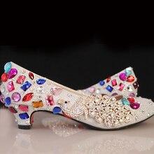 4 «Ferse Braut Hochzeit Schuhe Schuhe Silber Frau Wunderschönen Schuhe von Mama Nachtclub Abend Party Prom Heels