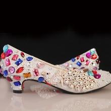 Wunderschöne Schuhe von Mama Nachtclub Abend Party Prom Heels 4 «absatz Braut Hochzeit Schuhe Schuhe Silber Frau Pumpen