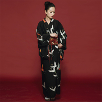 Japanese Kimono Haori Traditional Japan Clothing Yukata Long Dress for Women Obi Kimono Asian Clothes Fancy Gesia Costume Party