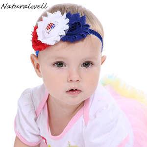 d30bc35e38ca Naturalwell Baby Girls Bow Flower Hair Accessories Headband