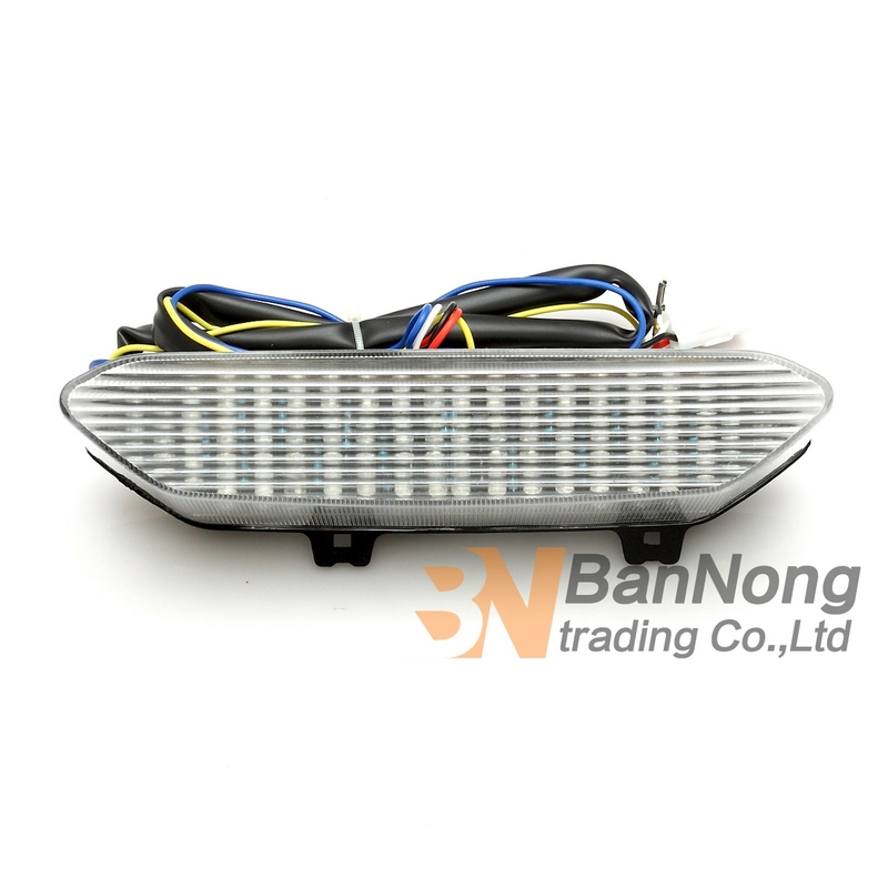 Motorcycle Led Tail Light Integrated Turn Signal Light