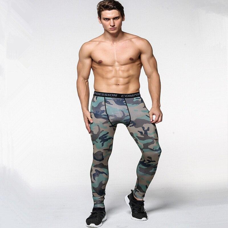 Herren Camouflage Engen Shorts Running Training Compression Quick-trocknen Hosen Gym Jogging Fitness Workout Bermuda Strumpfhosen S-xxxl Sport & Unterhaltung