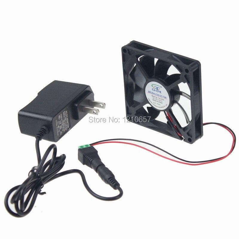 1 PCS Gdstime 80MM X 15MM 8015 Ball AC 110V 240V Cooling Fan Heatsink Power Supply Adapter Driver цена 2017