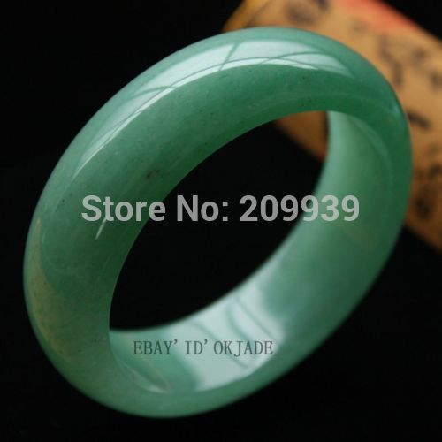 N1110 Certified 100% Green Fashion Retro Female Natural stone (A0427) Bracelet 58-62mmN1110 Certified 100% Green Fashion Retro Female Natural stone (A0427) Bracelet 58-62mm