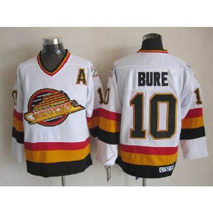 10 Pavel Bure Starter Vancouver Canucks HOCKEY JERSEY mens Embroidery  Stitched Customize any number and name 5ee96fd7c