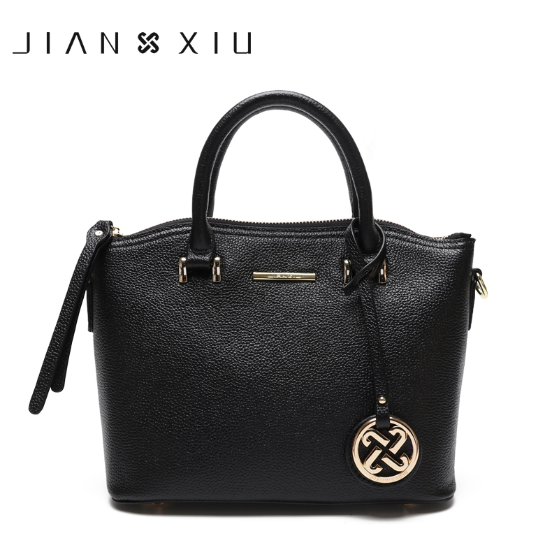 Women Genuine Leather Handbags Famous Brands Handbag Messenger Bags Shoulder Bag Tote Tassen Sac a Main Borse Bolsos Mujer 2017 vintage designer women handbags leather women bag famous brand female shoulder messenger bags tote big bolsas sac a main tassen