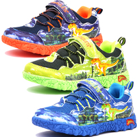 793a7285f1e Dinoskulls Baby Boy Sneakers Mesh 3D Dinosaur Kids Sport Shoes Autumn Casual  Children Trainers 2019 Toddler
