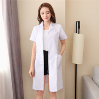 Doctor uniform nurse clothes lwinter dress summer decoration body beauty salon pharmacy pharmacy overalls