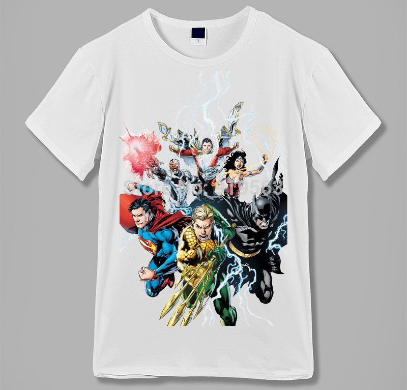rages of justice league pop culture raglan sleeves baseball style t shirt summer cool mo ...