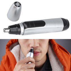 1pcsHair Removal Electric Shaving Nose Hair Trimmer Safe Face Care Shaving Razor Nose Clipper for Man and Woman Nose Ear Trimmer